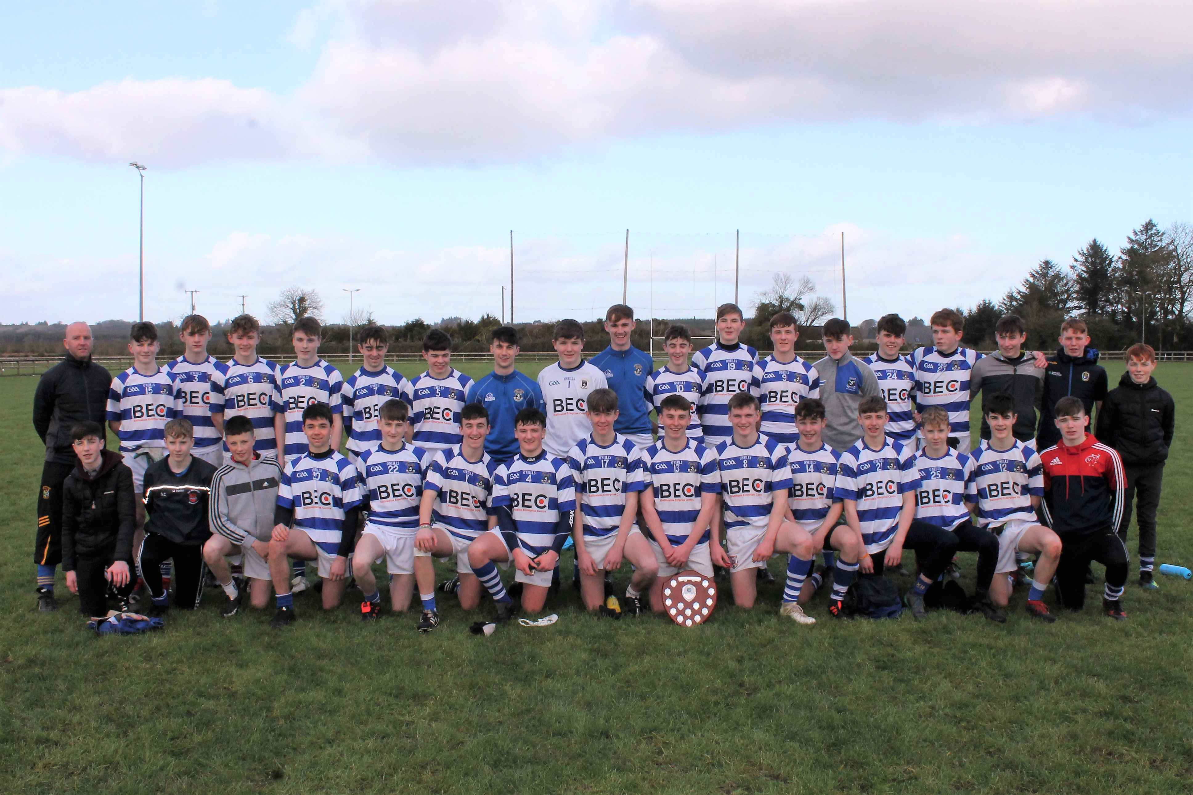 Connacht Junior Football League Champions 2019 compressed